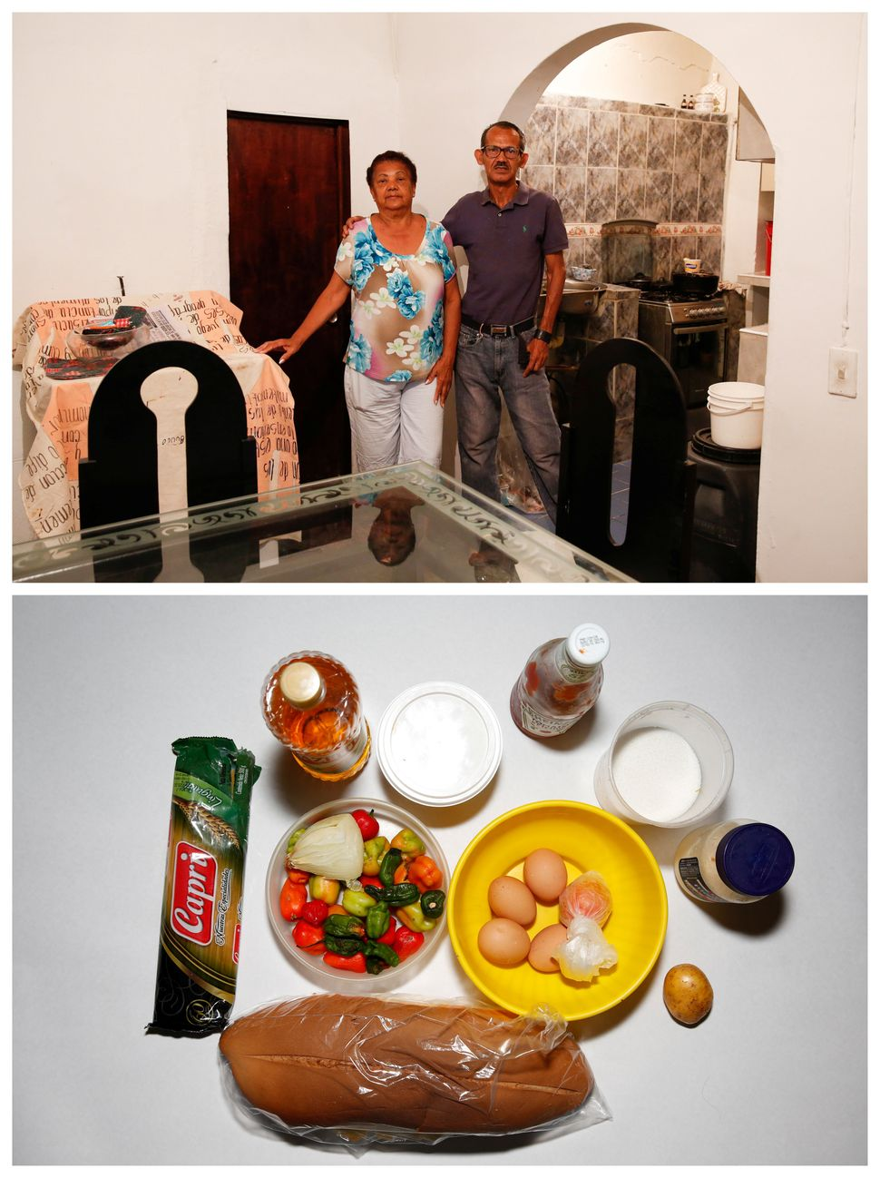 """""""I breakfast on either an arepa or a tamale, to eat, at least two times a day,"""" Mirella Rivero said."""