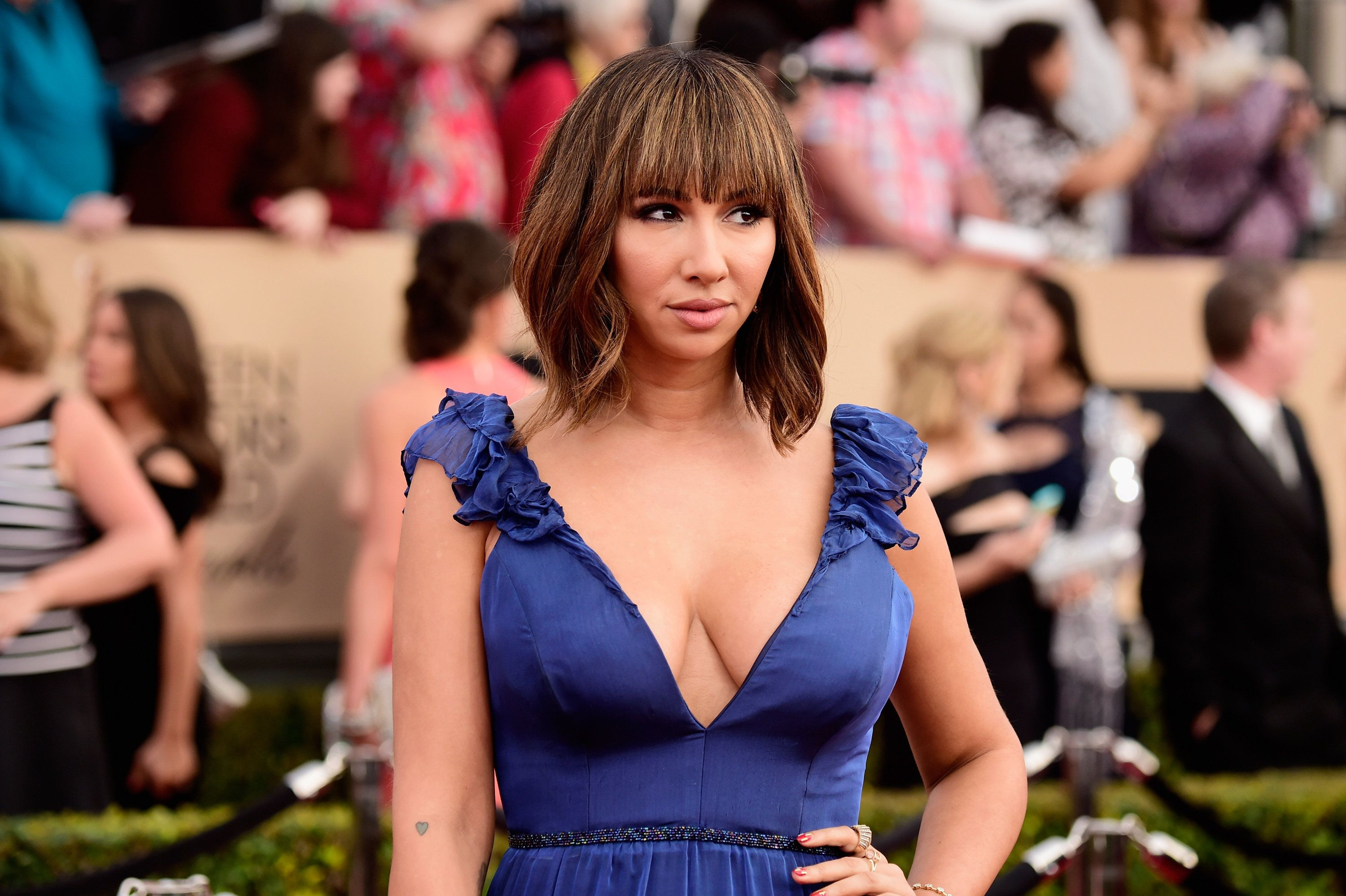 LOS ANGELES, CA - JANUARY 30:  Actress Jackie Cruz attends the 22nd Annual Screen Actors Guild Awards at The Shrine Auditorium on January 30, 2016 in Los Angeles, California.  (Photo by Frazer Harrison/Getty Images)