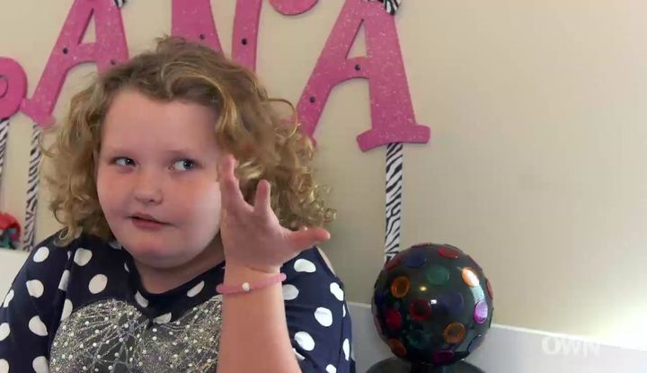 "Alana Thompson explains how she found out ""Here Comes Honey Boo Boo"" got canceled."