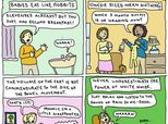 20 Hilarious Comics Show You Just Can't Win In Parenting