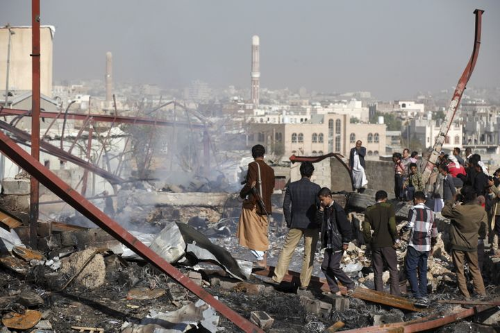 The U.S.-backed air campaign has destroyed homes and infrastructure in one of the Muslim world's poorest countries.