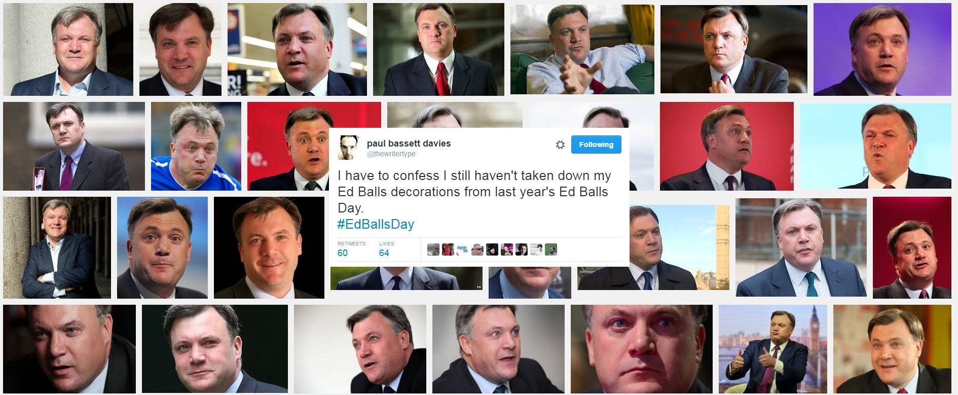 5 Signs We've Lost Sight Of The True Meaning Of Ed Balls