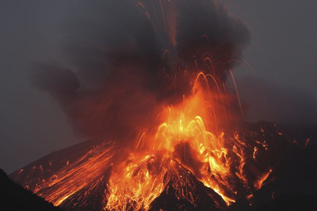 Although rare, a supervolcano has the potential to be an extinction