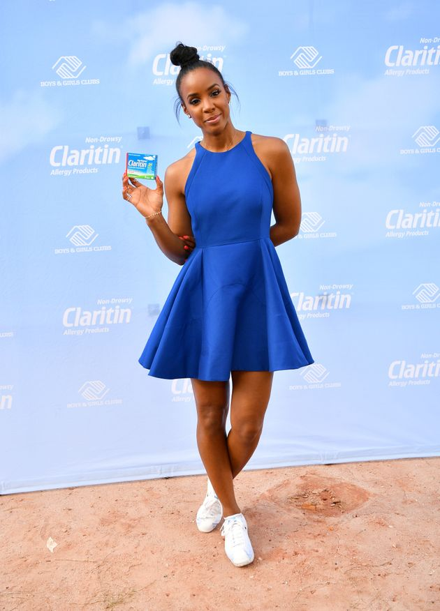 Kelly Rowland is not here for hay-fever, or questions about
