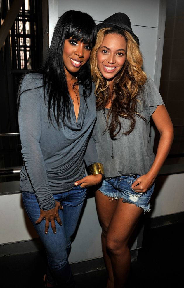 Beyoncé and Kelly Rowland in