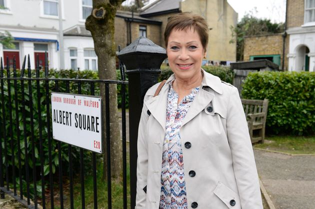 Denise Welch appeared in two episodes of 'EastEnders' last
