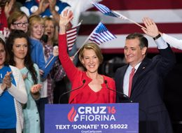 HUFFPOLLSTER: Carly Fiorina Probably Won't Help Ted Cruz Save His Campaign