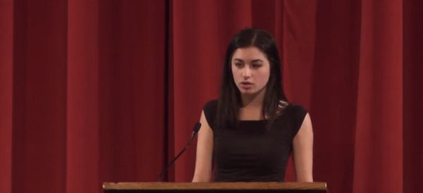 Every Adult Should Listen Carefully To This Teen's Speech On Rape Culture