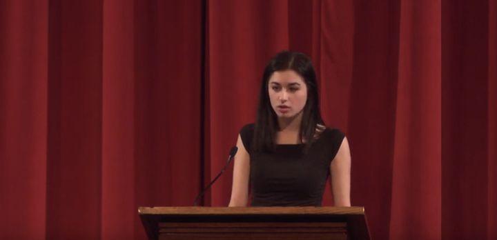 a speech about rape