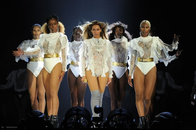 Beyoncé performing in Miami on Wednesday