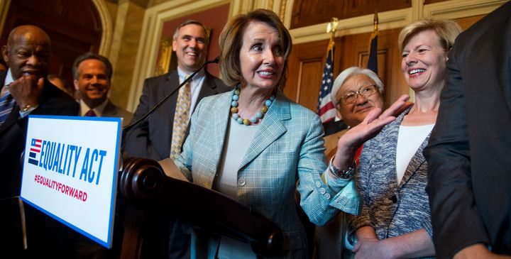 House Minority Leader Nancy Pelosi (D-Calif.) and other Democrats are calling on Republicans to hold a hearing on the Equalit