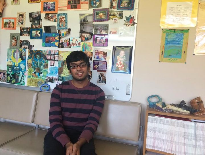 Ben Cheriyan began as a participant in Project REACH and is now a mentor for other students.