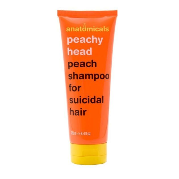 This 'Peachy Head' Shampoo For 'Suicidal Hair' Is Making People