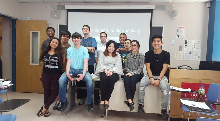 Students who are part of Project REACH meet weekly to discuss study strategies and ways that autism affects them socially and