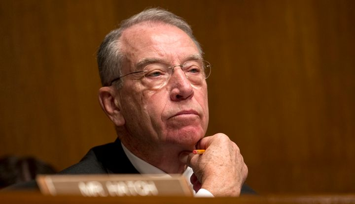 Sen. Chuck Grassley (R-Iowa) says gambling on a completely unpredictable Supreme Court nominee from a President Donald Trump