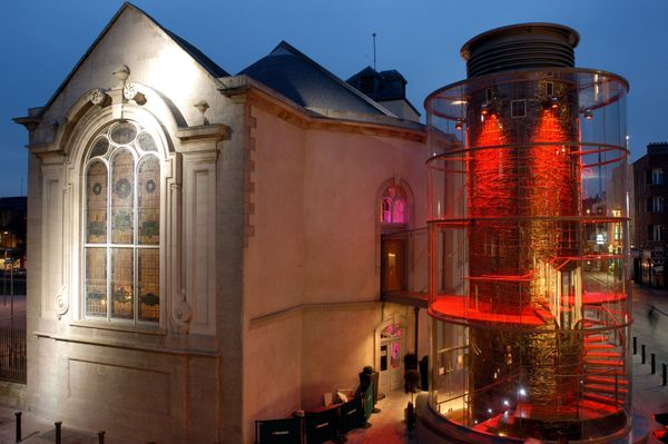 The Church is a bar, cafe, restaurant andnightclub in Dublin. Known formerly as St. Mary's Church, it was built in the