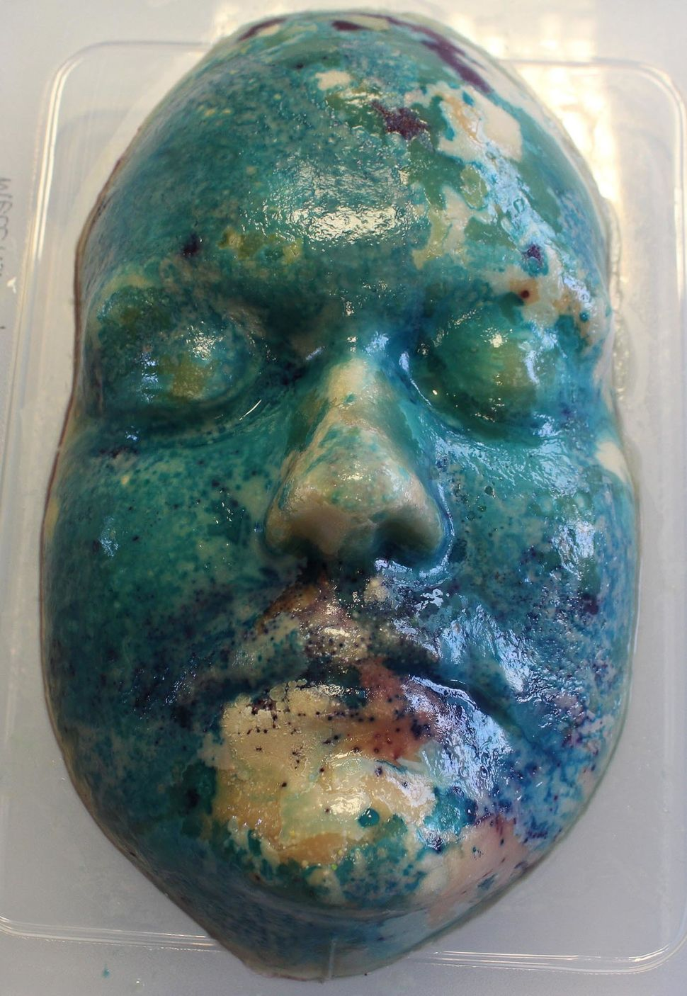 Artist Creates Sculptures From Bacteria Growing On Her