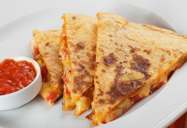 The only problem with what's essentially an ooey-gooey Mexican grilled cheese sandwich is that it's often not much more inter