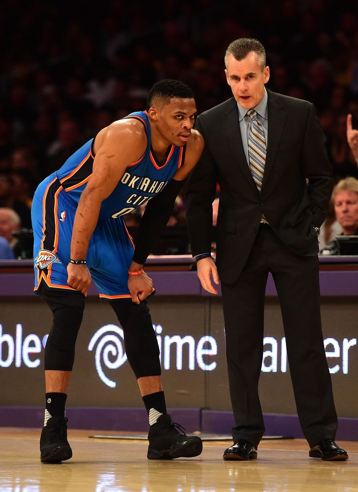 Westbrook and first-year head coach Billy Donovan have to be on the same page in order for OKC to make a championship ru