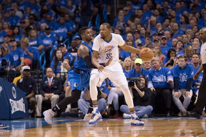 Over the past two seasons, the Thunder has fared far better when Durant scored 40-plus than when Westbrook did.