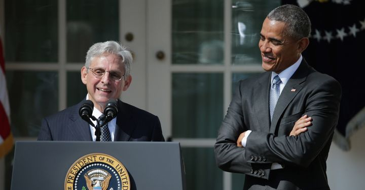 That day in the Rose Garden, Supreme Court nominee Merrick Garland highlighted the case that sent Richard Smith awa