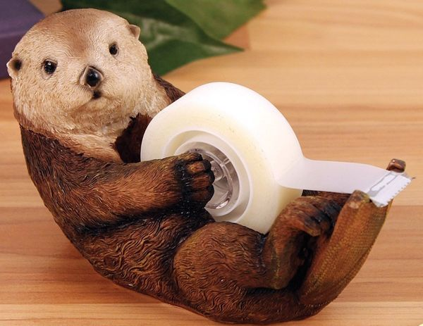 Your mom has suffered with a boring looking tape dispenser long enough. If you really care about her, you otter get her one <