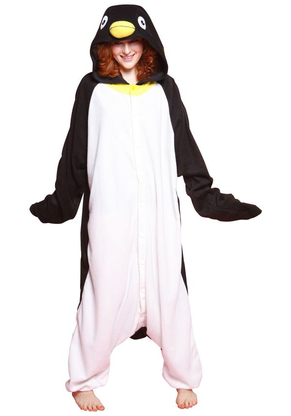 "The great thing about getting your mom <a href=""http://www.fun.com/silly-pajama-penguin-costume.html"" target=""_blank"">penguin"