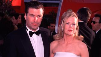 Academy Awards: Arrivals E-347904 045 (Gamma Number 673021 045) 03/21/99 Los Angeles, California The 1999 Academy Awards 'The Oscars' Arrivals - Alec Baldwin With Kim Basinger  (Photo By Evan Agostini/Getty Images)