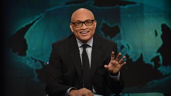 NEW YORK, NY - JANUARY 05:  Host Larry Wilmore on 'The Nightly Show With Larry Wilmore' on January 5, 2016 in New York City.  (Photo by Bryan Bedder/Getty Images for Comedy Central)