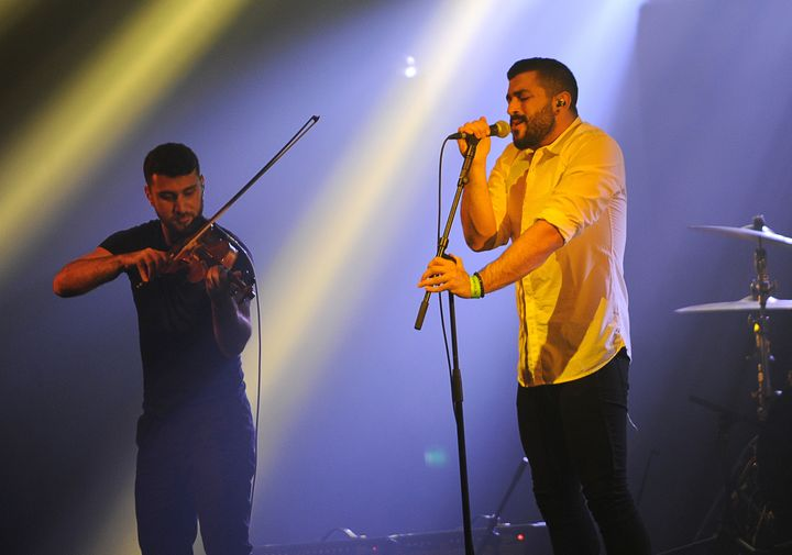 "The support Arab LGBT youth gives Mashrou Leila ""a sense of purpose that's not like anything else,"" band me"