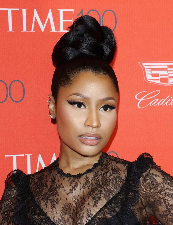Nicki Minaj Was Feeling Herself At The Time 100 Gala Dressed In Head To