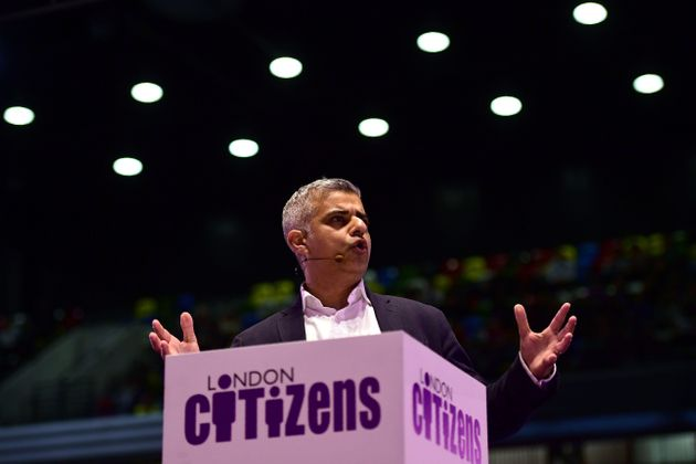 Khan at the London Citizens