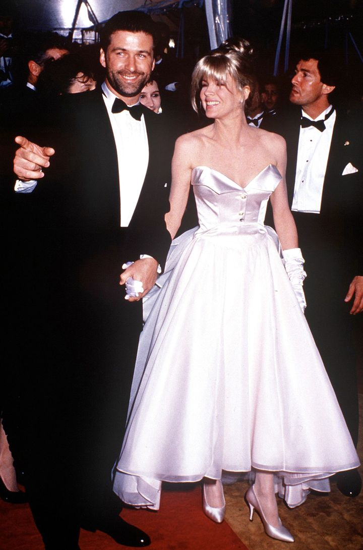 Baldwin and Basinger back in the day at the 1991 Academy Awards.