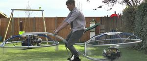 COLIN FURZE COLIN FURZE HOVERBIKE WEIRD INVENTIONS