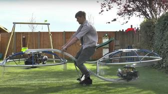 Colin Furze has created a working hoverbike.