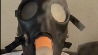 Video appears to show Laremy Tunsil with gas mask attached to bong.