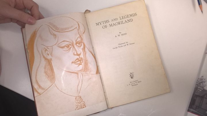 "This copy of ""Myths and Legends of Maoriland"" by A.W. Reed was due in 1948... but wasn't returned until 2016."