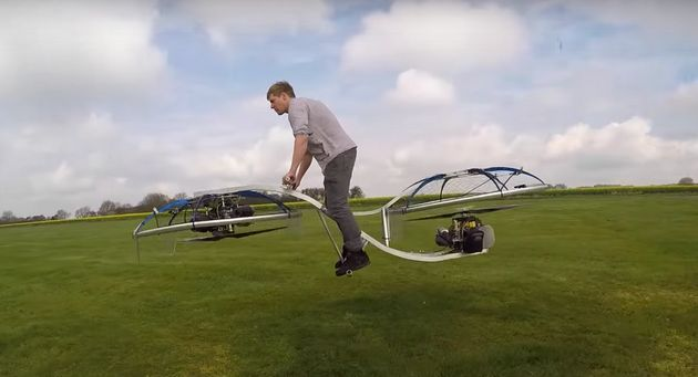 Colin Furze's Hoverbike Is A DIY Work Of