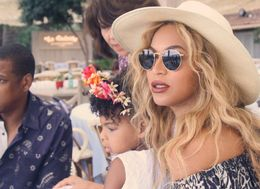 Blue Ivy Honoured Beyoncé's New Album In The Cutest Way