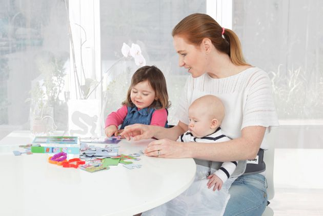 Mum Invents 'Hands-Free Parenting' Gadget 'LapBaby' To Allow Parents To