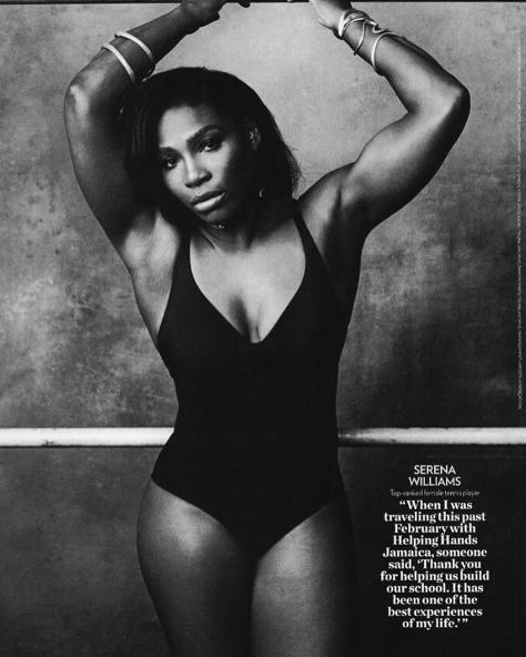 Serena Williams Caught In People Magazine Photoshop Debate, Fans Say They Much Prefer Untouched