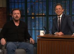 Ricky Gervais Proves He's the King Of Improv