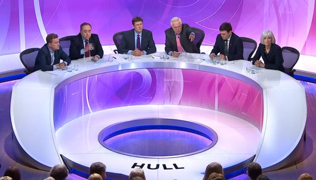 BBC Question Time: Young Man In Hull Busts Turkey EU Membership