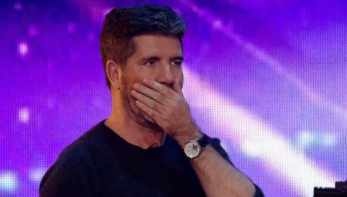 Simon Cowell risked his life during this 'Britain's Got Talent'