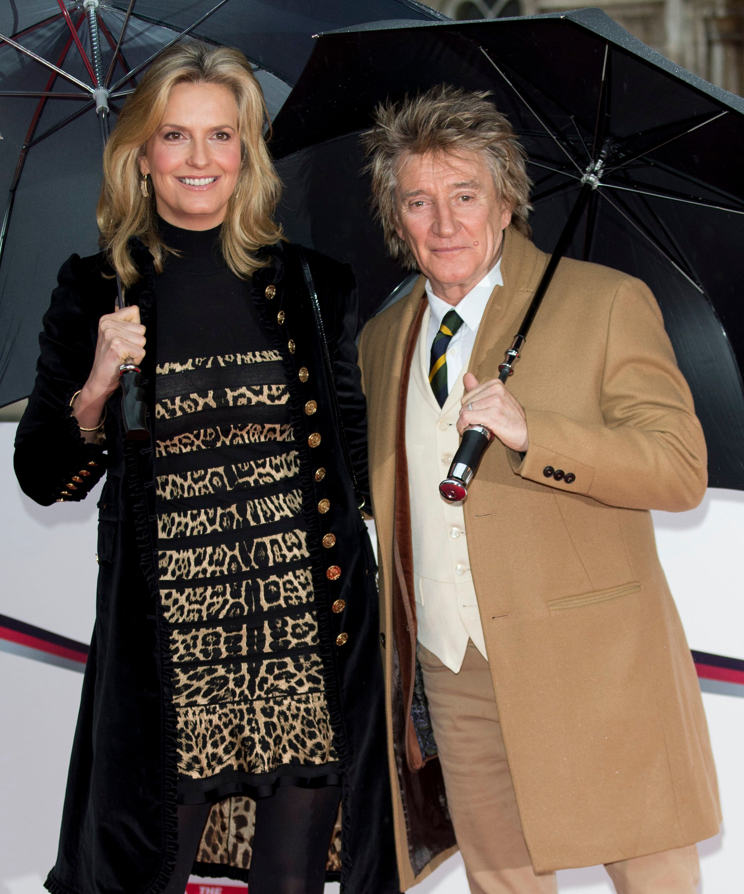 Penny Lancaster and Rod