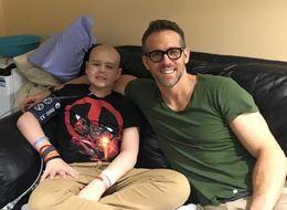 Ryan Reynolds Shares Heartfelt Tribute To Teenage Cancer Patient