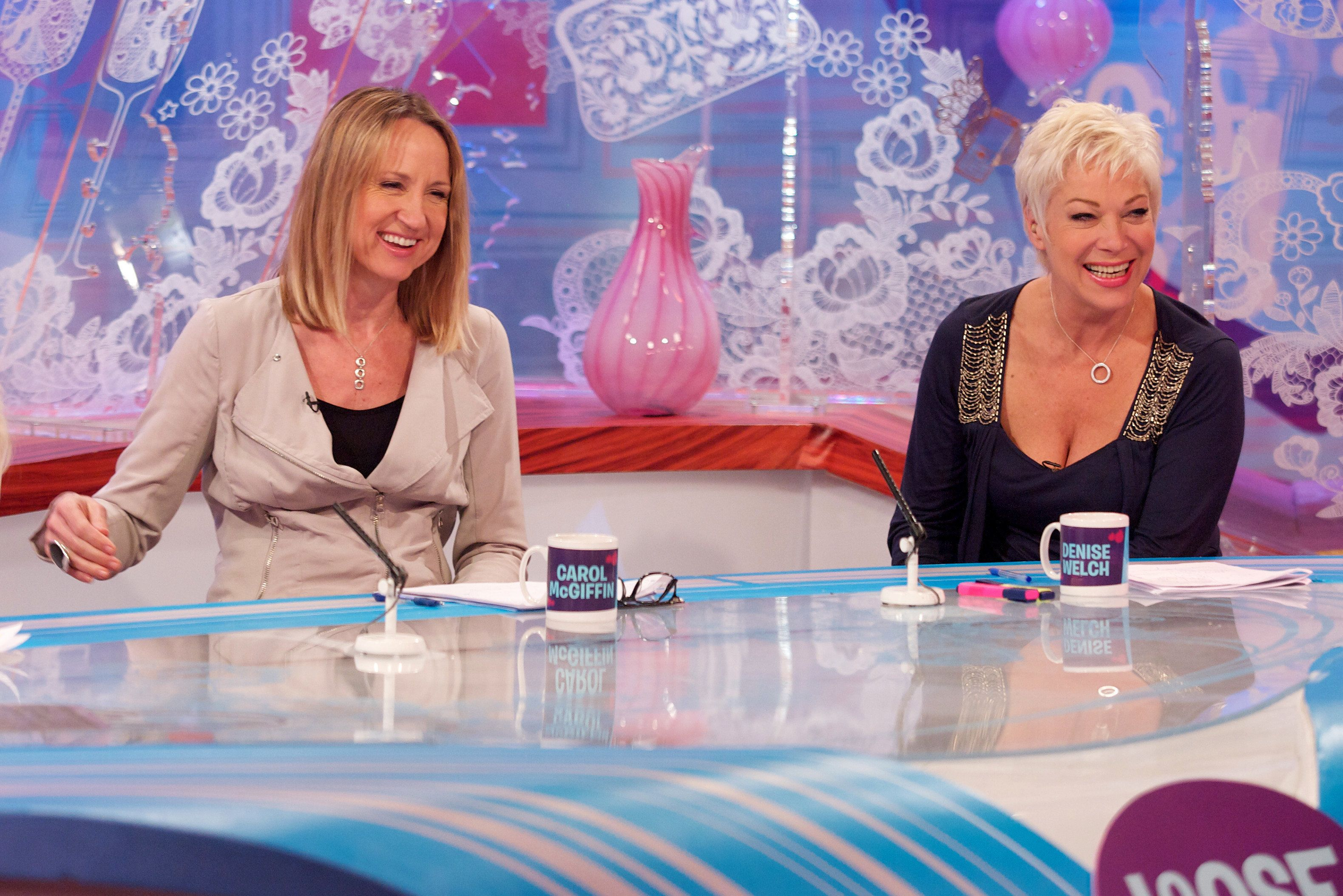 Denise was on the 'Loose Women' panel from 2005 to