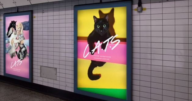 Kickstarter Wants To Replace All Tube Adverts With Pictures Of