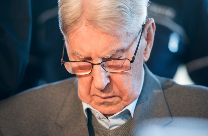 Reinhold Hanning, a former Nazi SS officer who worked in the Auschwitz death camp, apologized to victims and said he reg