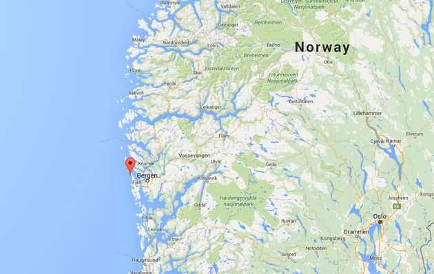 The island is on Norway's West